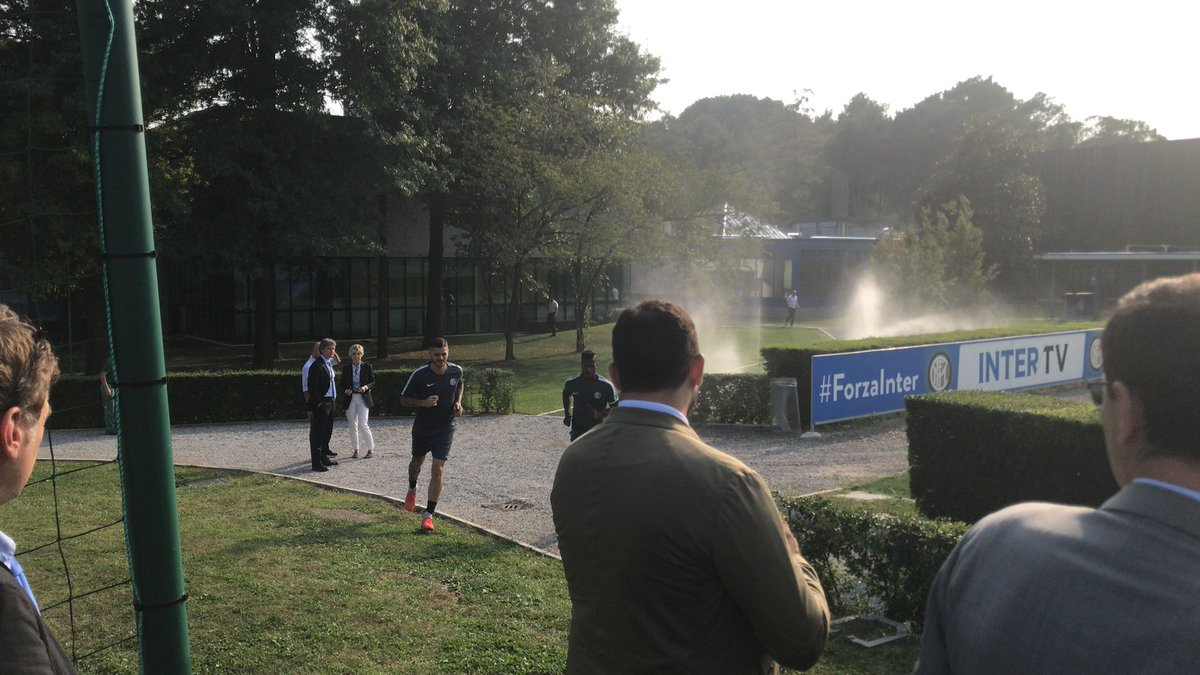 Immagini da Appiano  #Inter #FcInternews #InterParma #InterTottenham  - Ukustom