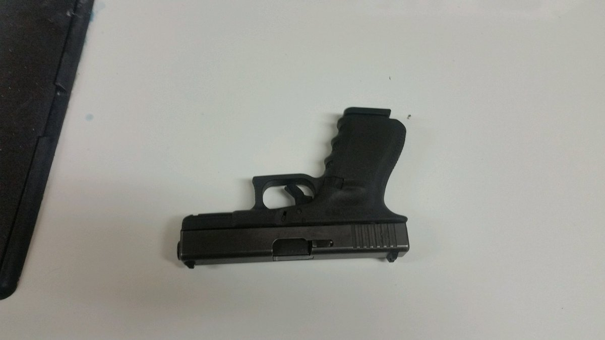 Suspect's gun recovered by police