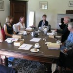 Image for the Tweet beginning: The reading group reconvened today