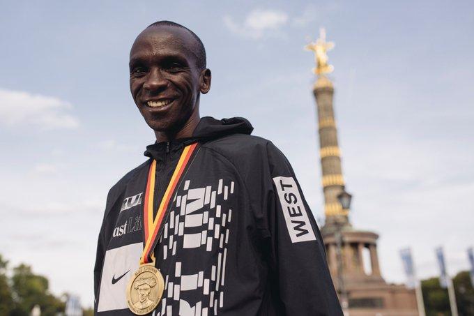 World record Q&A with Eliud Kipchoge ➡️ Foto