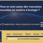 Image for the Tweet beginning: 🌏RDV le mardi 25 septembre