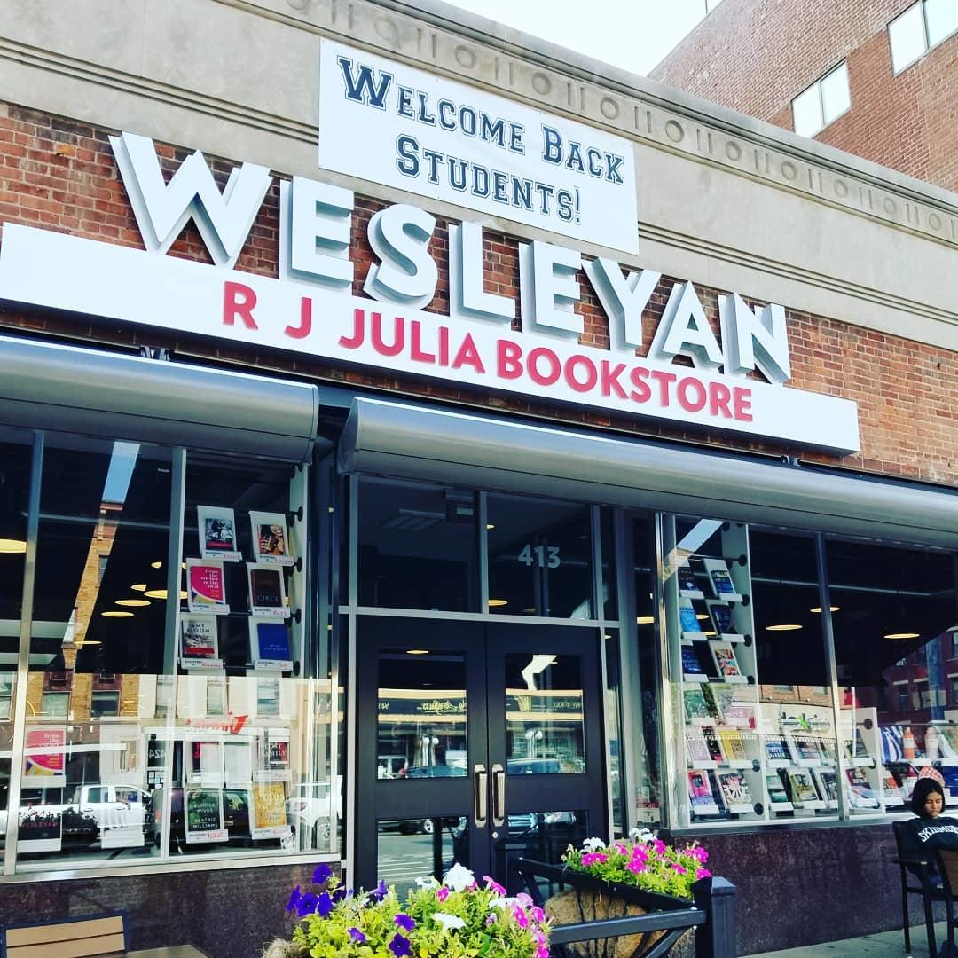test Twitter Media - Today @wesrjjulia: celebrate the one year anniversary of Wesleyan RJ Julia Bookstore and grown café! Special events, treats, a visit from the Cardinal, and discounts on books & gifts — 20% off with WesID, 10% for community members. (Some exclusions.) https://t.co/qF1wlg54ci https://t.co/zSPYklHGiB