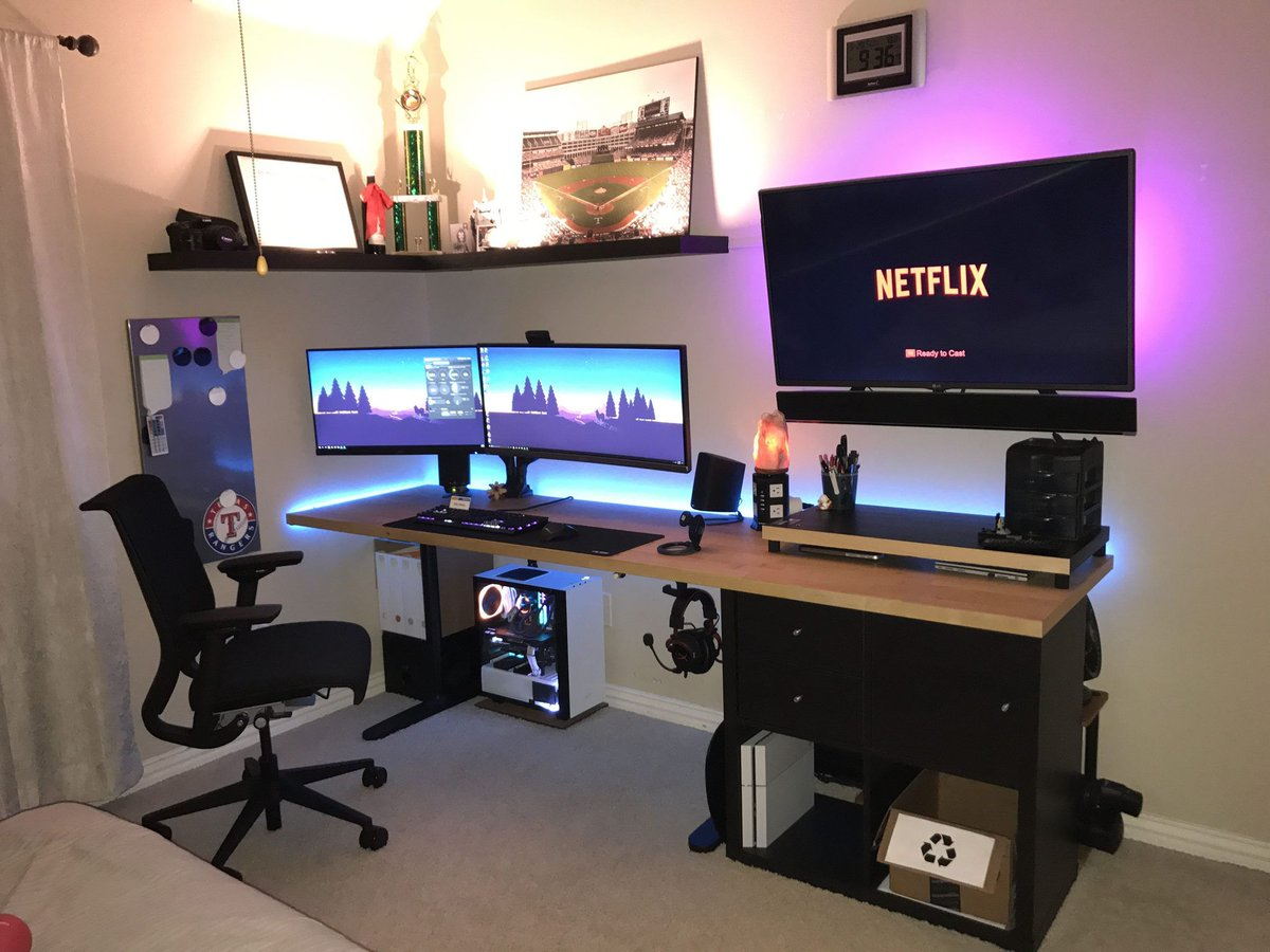 - Pc Desk Setup On Twitter: