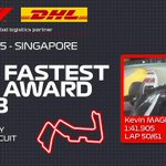 We would have been in Singapore this weekend 😢   Flash-back to 2018 when Kevin bagged his and our first EVER DHL fastest lap 💪🇸🇬   #HaasF1