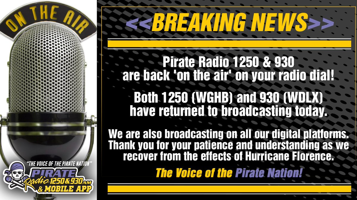 Pirate Radio ☠️ on Twitter: