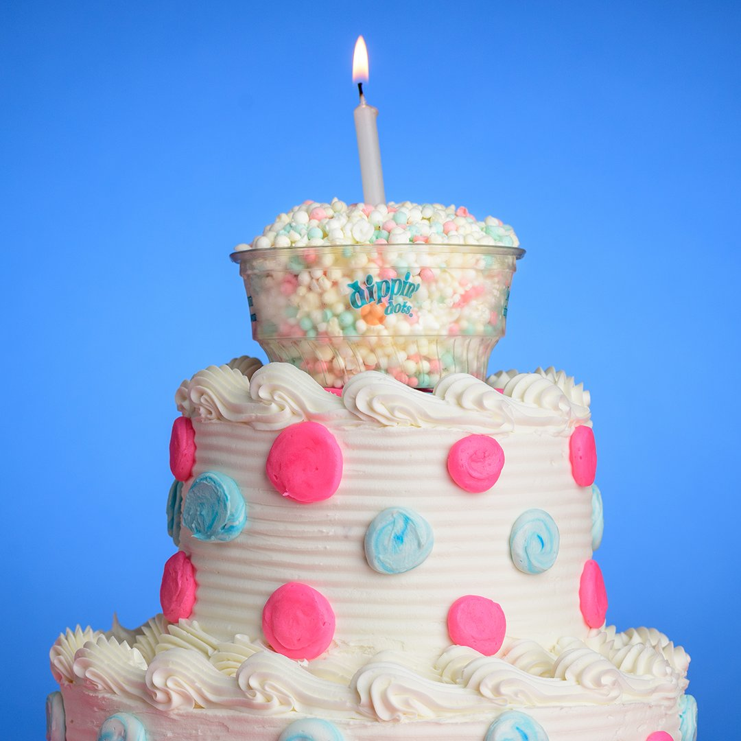 Dippin Dots On Twitter Celebrate Your Birthday Every Day Of The Year With Our Cake Flavored