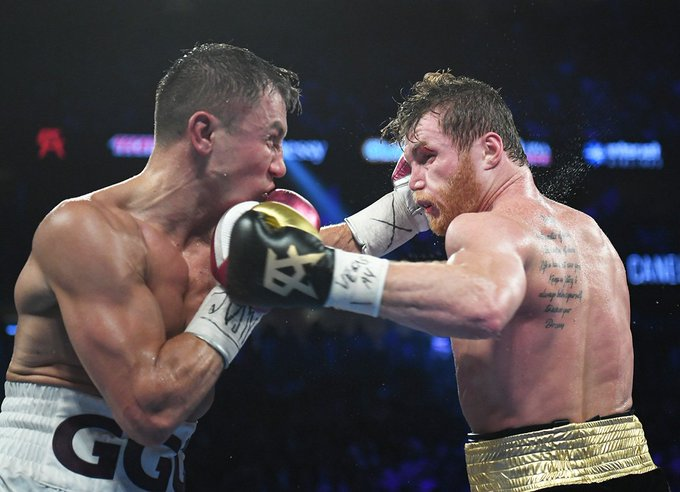 WBC Middleweight Championship Bout ; #CaneloGGG2 #AndTheNew Champion of the world, Saul @Canelo Alvarez What an amazing night offered by two real warriors !!! Photos by Rafael Soto Photo