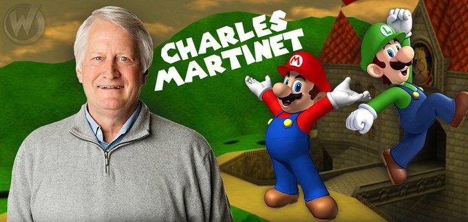 Happy Birthday to legendary voice actor Charles Martinet!