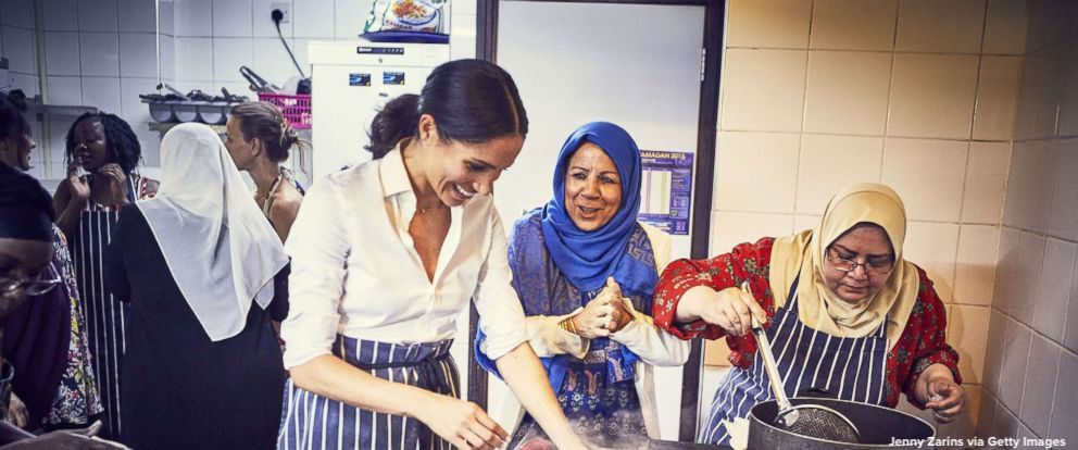 This is a tale of friendship, and a story of togetherness: Meghan Markle, the Duchess of Sussex, collaborates with group of female survivors of the deadly Grenfell Tower fire on a new cookbook. abcn.ws/2OzKJnS