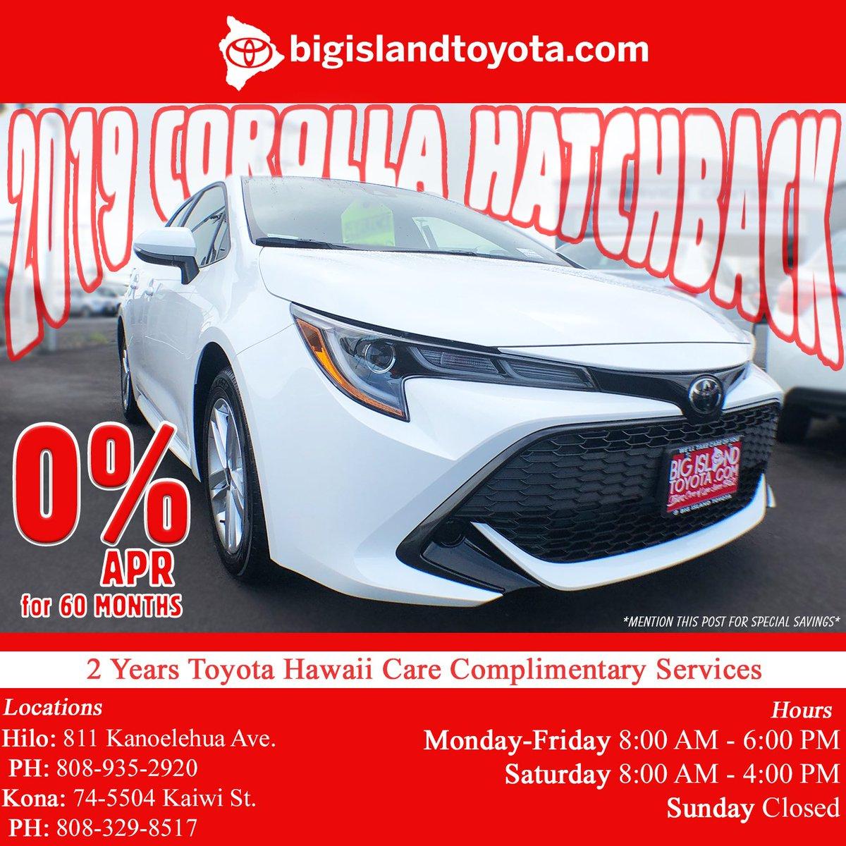 ... Big Island Toyota BigIslandToyota Twitter