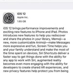 #iOS12 major features (available now for an upgrade): Use #GoogleMaps in CarPlay Create ur own #Memoji Measure objects with #AugmentedReality Enhanced #DoNotDisturb Create own #Siri shortcuts Group Video Calls in #FaceTime Optimised to work smoothly for older devices.