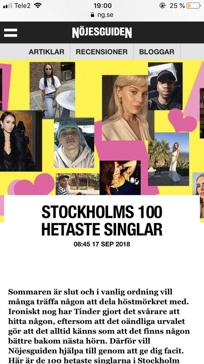 Stockholms 100 hetaste singlar 2020