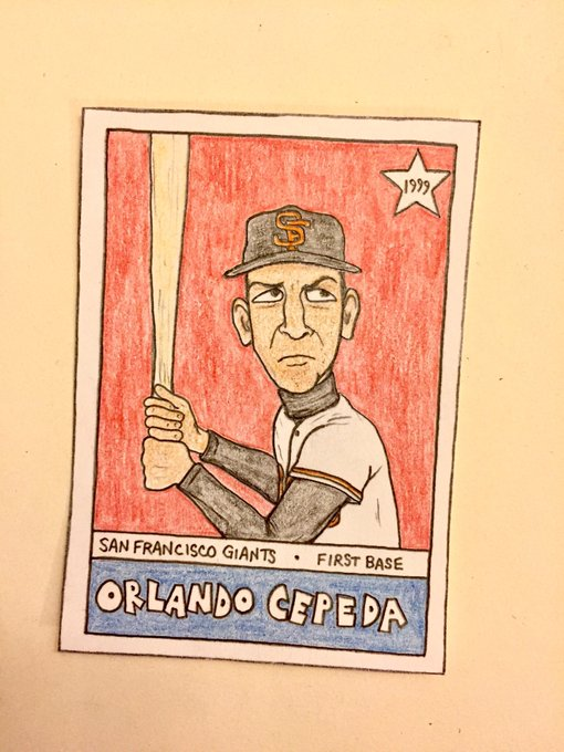 Happy birthday, Orlando Cepeda!