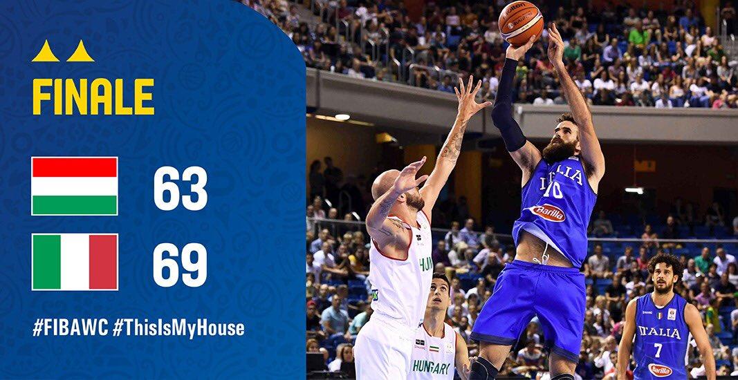 Sofferta, non bella, ma pesante come un macigno sulla strada per la Cina! L'Italia fa il bis! Si può festeggiareeeeeeee!!!#Italbasket #ThisIsMyHouse #FIBAWC  - Ukustom