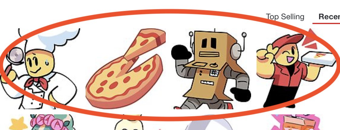Mike On Twitter New Work At A Pizza Place Roblox Stickers