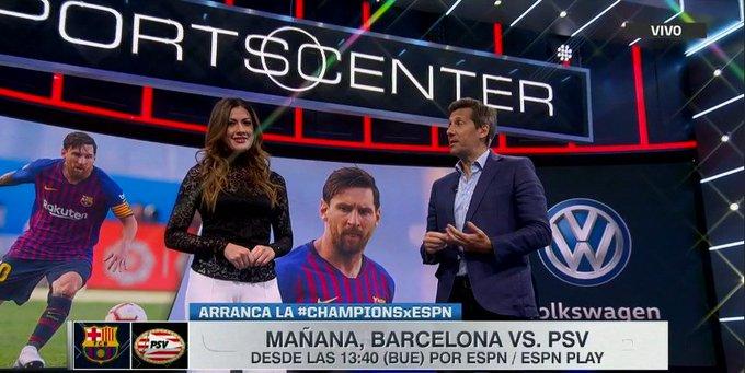 Sumate a #SportsCenter, en vivo por ESPN 2, con toda la previa de la #CHAMPIONSxESPN. Foto