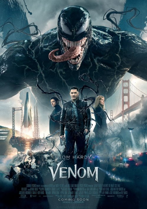 New @VenomMovie poster has been released.   Everything we know about the #Venom movie! --> https://t.co/1QP3amLV4M