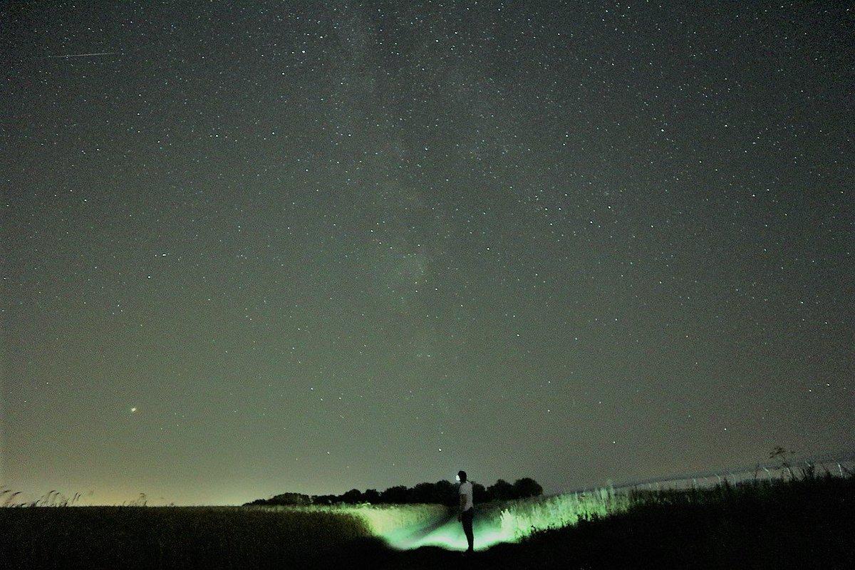 с какими настройками фотографировать ночное небо хочется