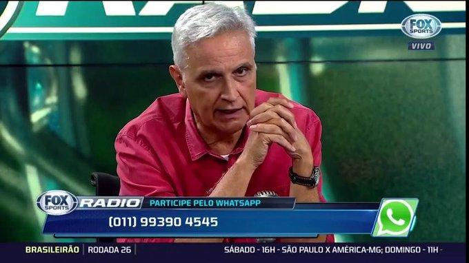 🎙Sormani: Fiquei decepcionado, achava que o @Palmeiras ganharia. Quem quer ganhar três competições não pode desperdiçar ponto. Quer ganhar? Não pode empatar com o Bahia. A diferença para o São Paulo cairia para um ponto #FSRádioBrasil Foto