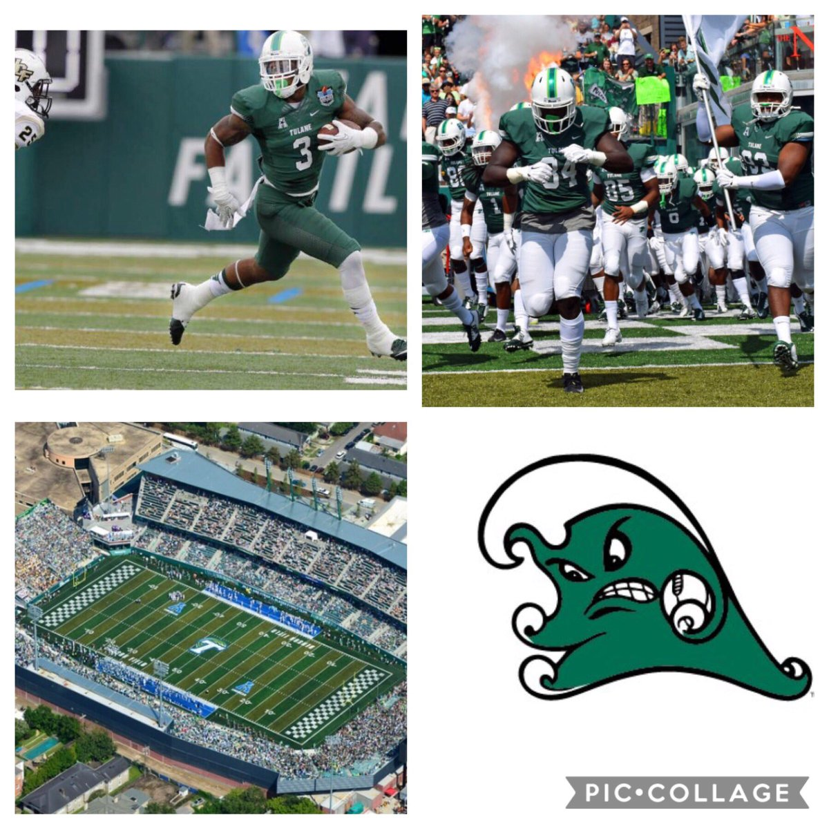 Blessed to receive my first offer from the University Of Tulane! I want to thank all family,friends, and coaches for the support. I also want to thank @JJMcCleskey and other coach for believing in me on this Journey.