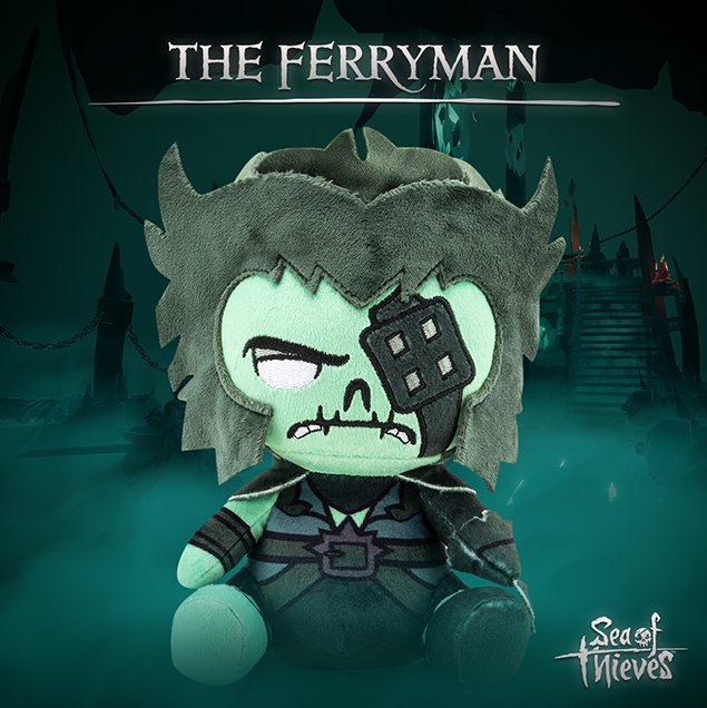 Sea of Thieves The Ferryman Stubbins Plush Figure