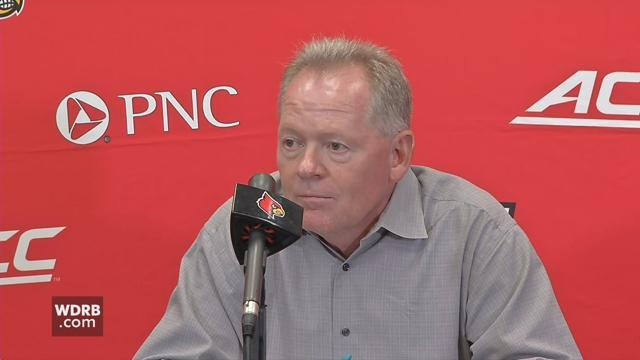 RAW VIDEO | U of L's Bobby Petrino previews upcoming game against Virginia https://t.co/Ls3H80UDqQ