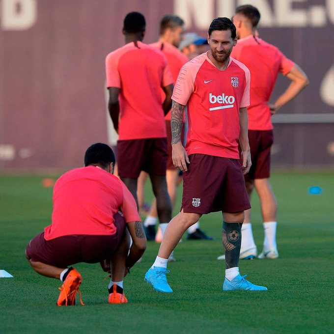 Las cartas goleadores del Barcelona se preparan para pisar fuerte en la #CHAMPIONSxESPN. Foto