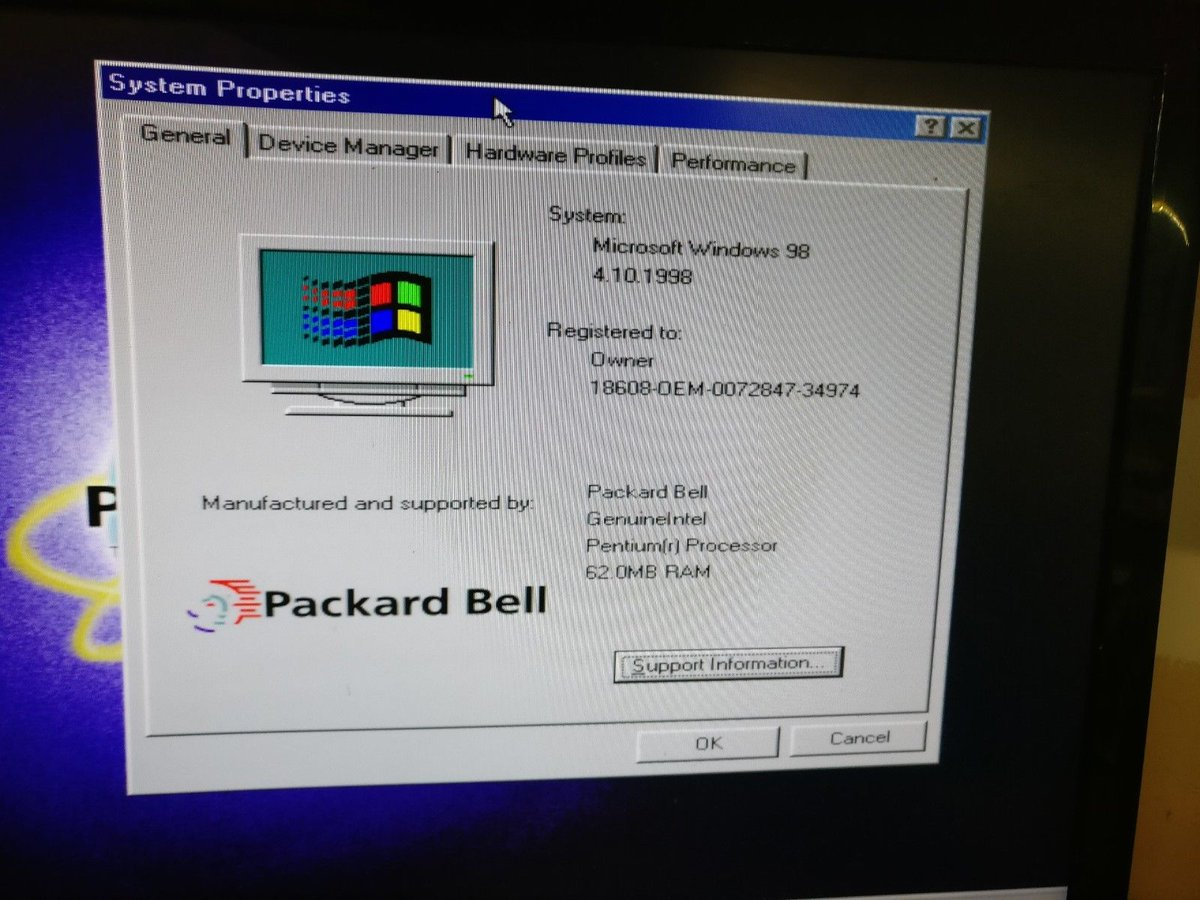 Foone в Twitter Hey Look Its The Packard Bell Corner Computer