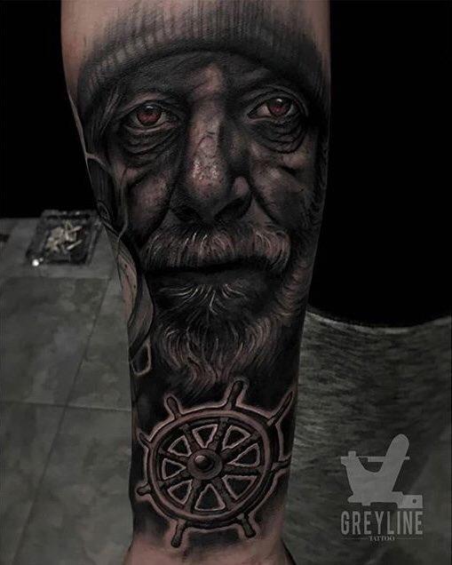 #seaman #tattoo realizado por Julen Mrkpa!! With @Radiant_Colors   IG —> @julen.mrkpa  #tattooartist #love #lovetattoos #worldtattoo #ink #oldmantattoo #tattoostudio @greylinetattoopic.twitter.com/nN4bXT6lnn