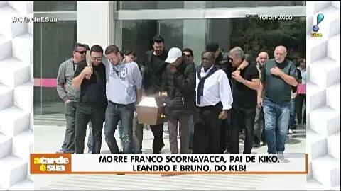 Morre Franco Scornavacca, pai de kiko, Leandro e Bruno, do KLB! #ATardeESua Foto