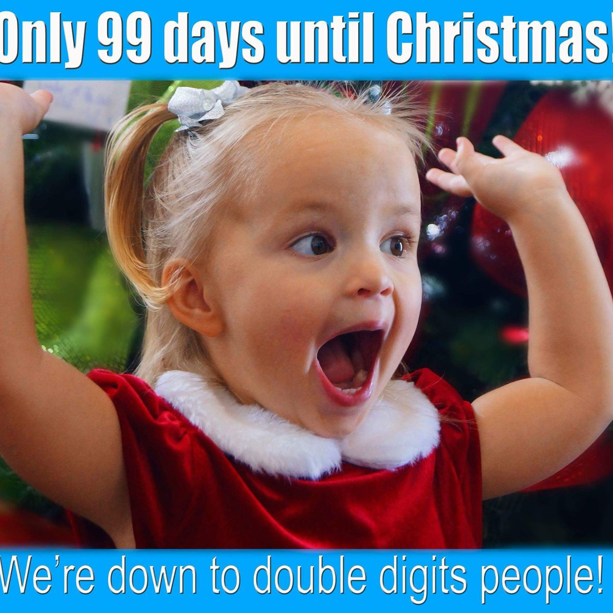 Until Christmas 99 Days Till Christmas.Brenda Carey On Twitter Less Then 100 Days Till Christmas
