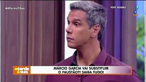 Márcio Garcia vai substituir o Faustão?! Saiba tudo! #ATardeESua Foto