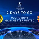 Just two more days until we kick off our @ChampionsLeague journey! #MUFC #UCL