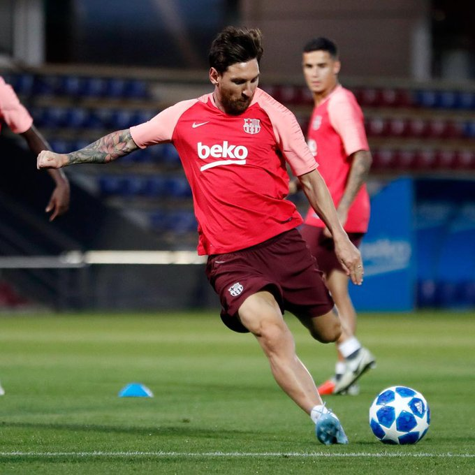 Leo Messi irá en busca de su quinta #CHAMPIONSxESPN: la primera parada del Barcelona será contra el PSV en el Camp Nou. Foto