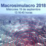 #MacroSimulacro2018 Twitter Photo