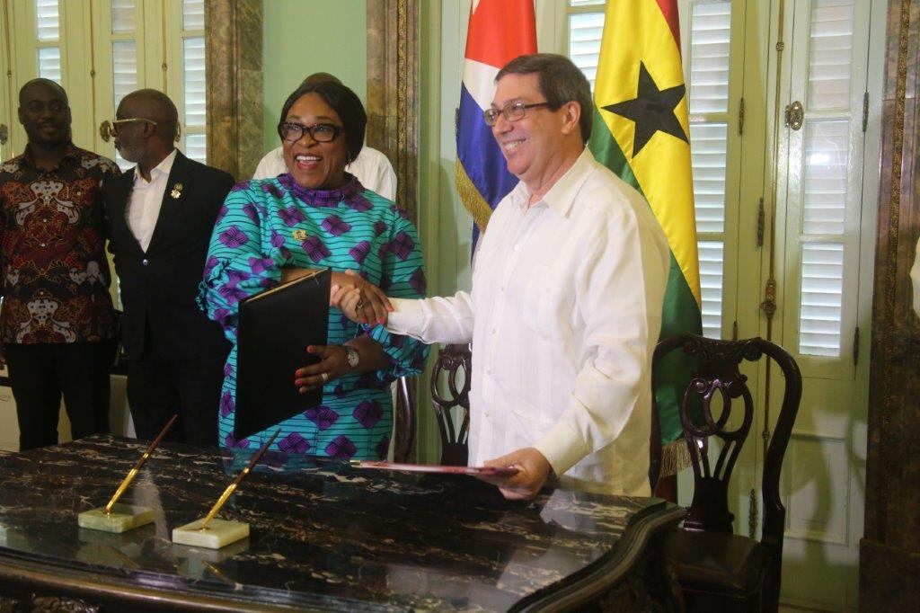 Cuba y Ghana estrechan relaciones