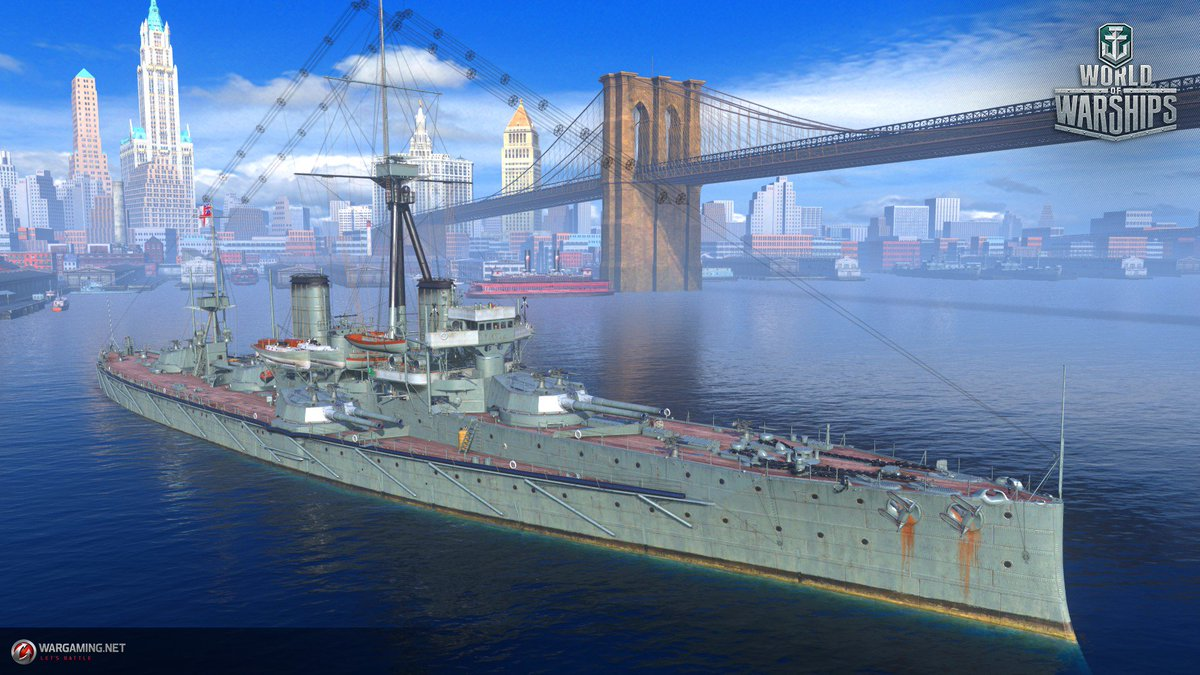 "World of Warships on Twitter: ""USS Charleston is pictured below!… """