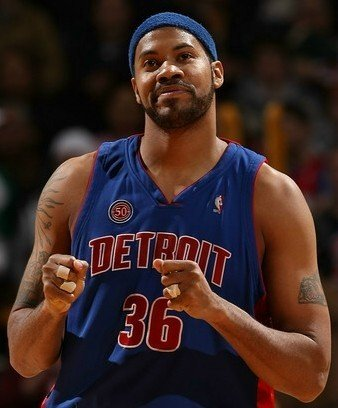 """Happy Birthday to one of the hardest working members of the \""""goin\ to work\"""" Pistons - Rasheed Wallace"""