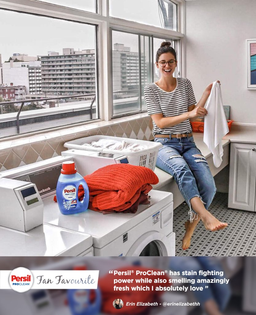 We love helping making laundry days everywhere a little brighter! Thanks for the shoutout @eringrahamm! #PersilPartner https://t.co/GoUqj32Ije