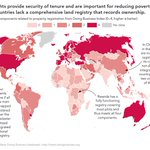 Image for the Tweet beginning: #LandRights provide security and are