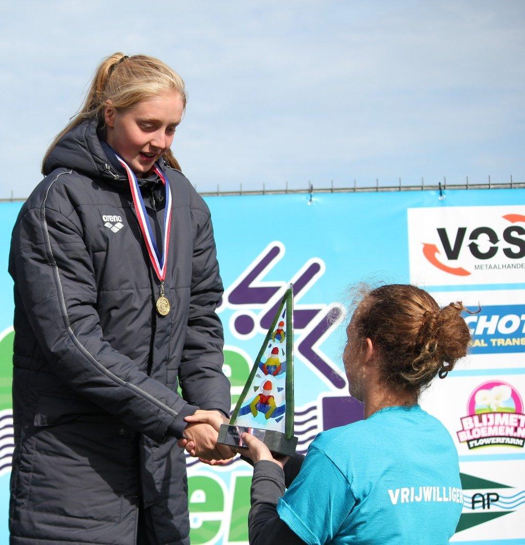 Marlinde Beukers winnares open water schoolslagklassement dames senioren 2018 https://t.co/D5SnD1kYk9