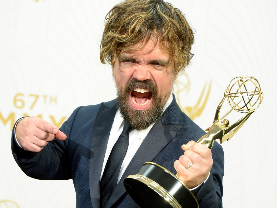 Congratulations to Peter Dinklage on your #Emmys for @GameOfThrones #GameOfThrones