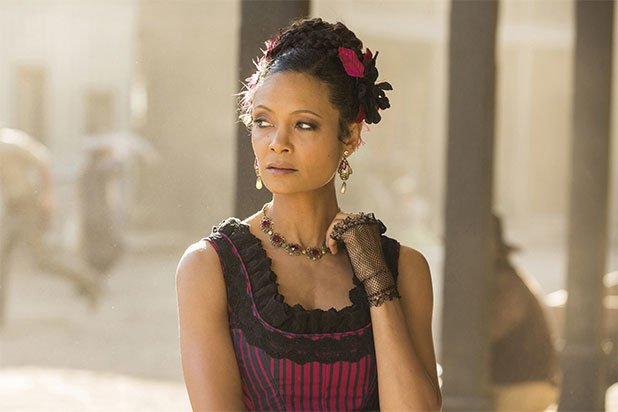 Congratulations to @thandienewton on your #Emmys win for Outstanding Supporting Actress in a Drama Series for #Westworld Foto