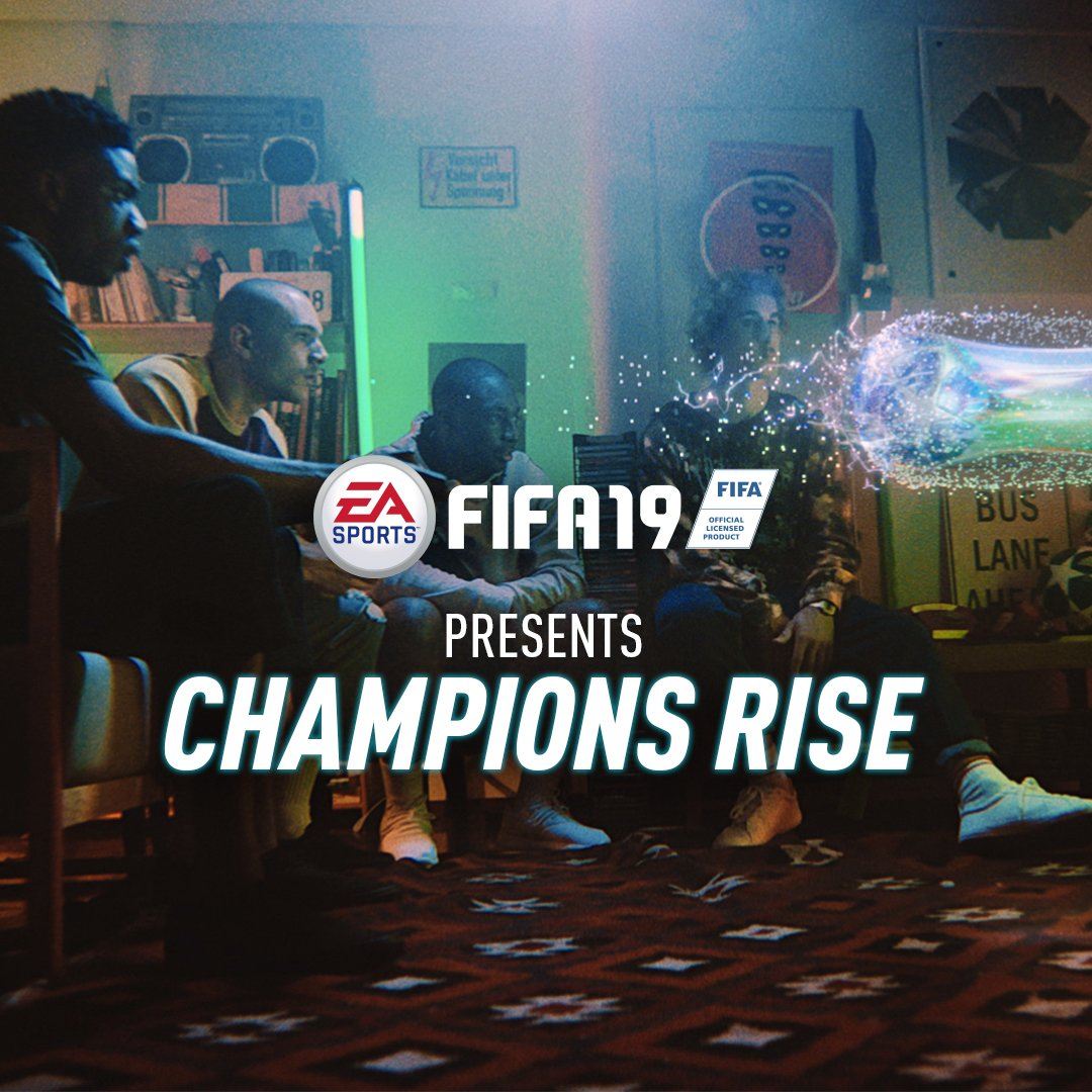 You take it from here. Just don't put @cristiano at CB... �� #ChampionsRise #FIFA19 https://t.co/y8zHAbUZAV https://t.co/9T306CO1Ub