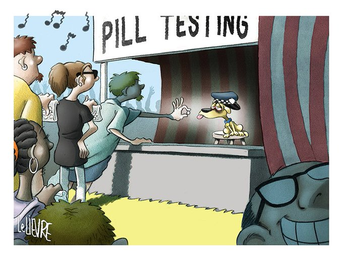 #PIllTesting @smh 20/2/16 Become a Patron at for more cartoons, gifs, and making-of videos. Photo