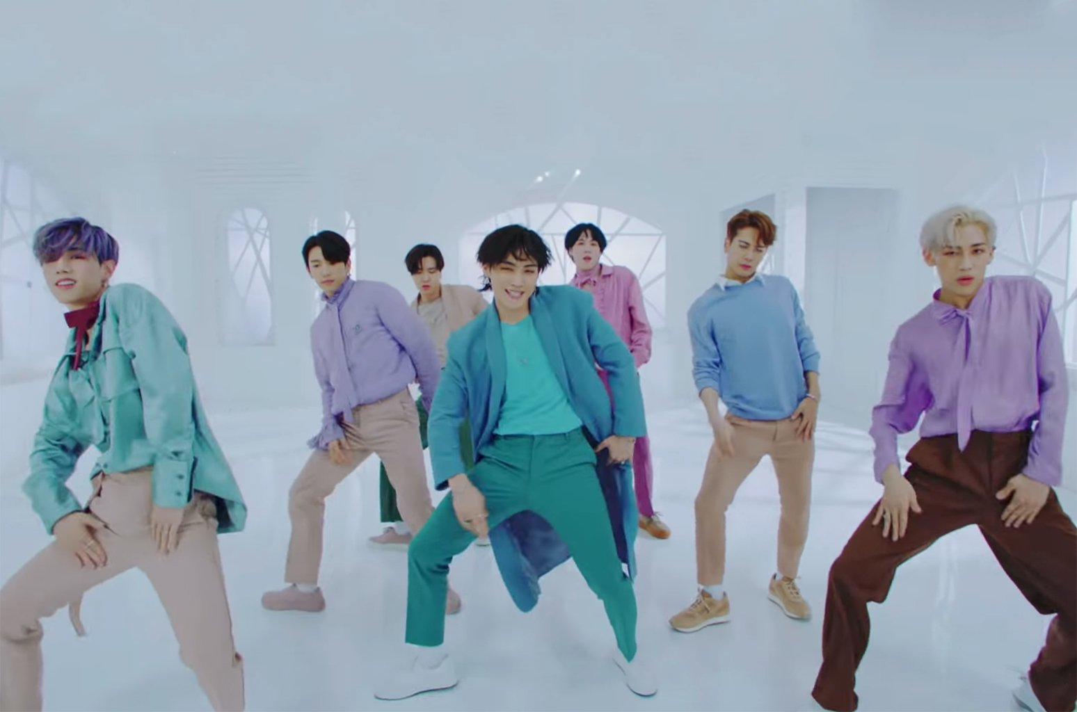 .@GOT7Official sings new single 'Lullaby' in four languages! Watch the music video https://t.co/Fm2gHxsFSR https://t.co/mGEg1ffI2t