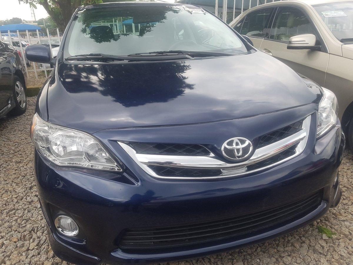 "Shalom Motors on Twitter: ""2013 Corolla Sport....#4m naira. Slightly negotiable.… """