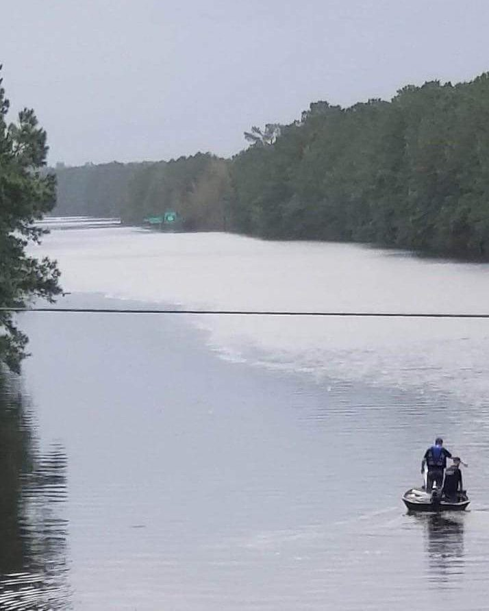 That is not a river..that is Interstate 40 just north of Wilmington. #Florence ...h/t Brianna Waxman