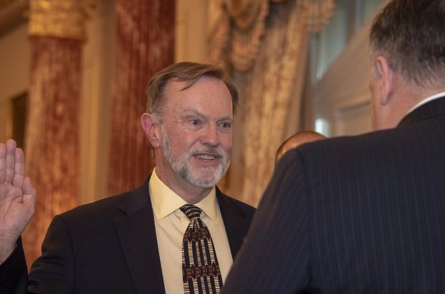 A pleasure to officially welcome @AsstSecStateAF Tibor Nagy back to the @StateDept! Our #Africa team is in great hands with your experience and leadership.