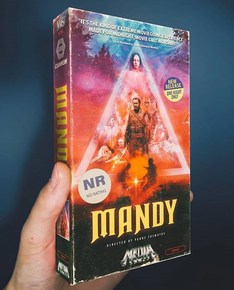 This rules (via @OfftrackOutlet) See #Mandy in select Australian cinemas Friday (one night only!)